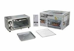oven hamilton beach toaster slice 2 6 broiler fresh express