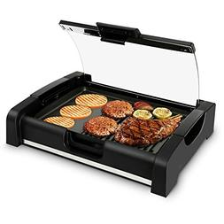NutriChef Electric Griddle - Dual Hot Plate Cooktop Crepe Ma