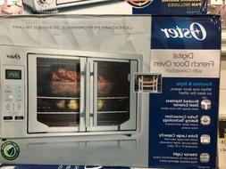 PREMIUM Oster Digital French Door Oven with Convection, Meta