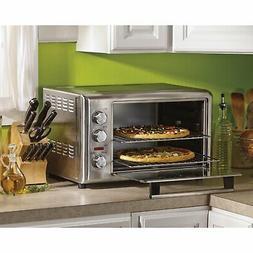 PREMIUM Hamilton Beach Stainless Countertop Oven with Convec