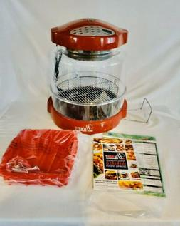 NUWAVE PRO INFRARED Cinnamon Convection OVEN w/ EXTENDER RIN