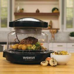pro plus oven black countertop with digital