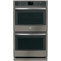 "GE PT7550EHES Profile 30"" Slate Electric Double Wall Oven -"