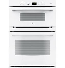 GE Profile Series White 30-inch Built-In Combination Convect