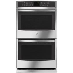 "GE PT7550SFSS Profile 30"" Double Oven, with Upper Convection"