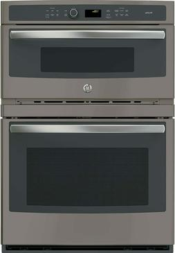 "GE PT7800EKES 30"" Slate Microwave Combination Convection Wal"
