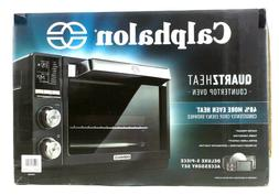 Calphalon Quartz Heat Countertop Toaster Oven Dark Stainless