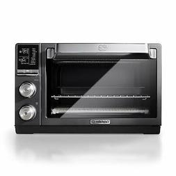 Calphalon Quartz Heat Countertop Toaster Oven, Dark Stainles