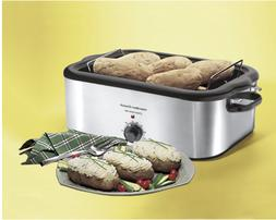 recertified stainless steel 22 quart roaster oven