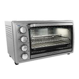 Rotisserie Convection Kitchen Countertop Toaster Oven, Stain