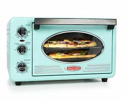 Nostalgia RTOV220AQ Retro 12-Slice Convection Toaster Oven