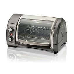 Hamilton Beach Small Easy Reach 4 Slice Toaster Oven with Ro