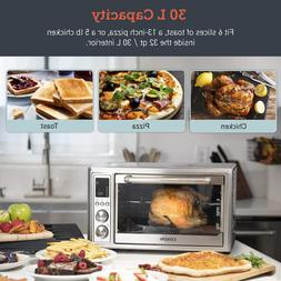 Smart Oven 12-in-1 Air Fryer Convection Roaster Rotisserie T