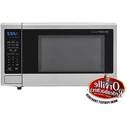 "Sharp SMC1132CS 1.1 Cu Ft 1000w Touch Microwave 11.25"" Turnt"