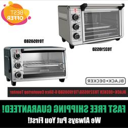 Black+Decker Stainless Steel Convection Countertop Toaster O