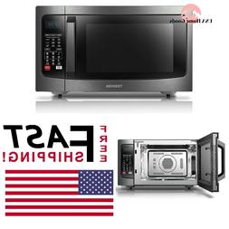 TOSHIBA Stainless Steel Convection Microwave Oven 1.5 cu ft