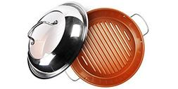stainless steel grill pan