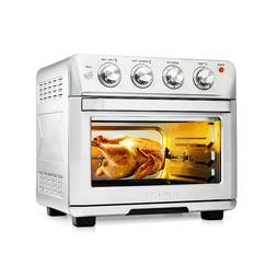 Ovente Stainless Steel Multi-Function Air Fryer Toaster Oven