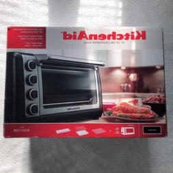 "KitchenAid Steel 10"" Convection Countertop Toaster Oven Bake"