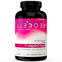 NeoCell Super Collagen +C, Type 1 & 3 250 Tablets FRESH, Mad