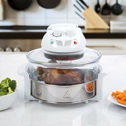 Tabletop Halogen Hot Air Cooker 12 Qt Turbo Convection Oven