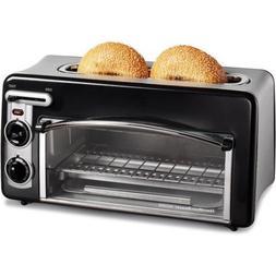 Hamilton Beach Toast 2 Slice Toaster Oven Auto Shutoff Remov