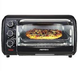 Toaster Convection Oven Countertop X-Large 6 Function Black