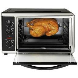 Hamilton Beach Toaster Oven 1500-Watt Temperature Controls C