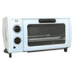 Toaster Oven 2-Slice Toast Off White Kitchen Electric Convec