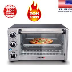toaster oven 4 slice multi function stainless