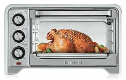 Chefman Toaster Oven, Countertop Convection Stainless Steel