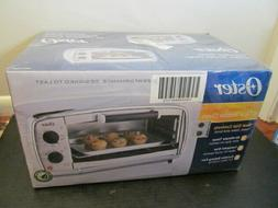 Oster Toaster Oven, 4 Slice, Stainless Steel