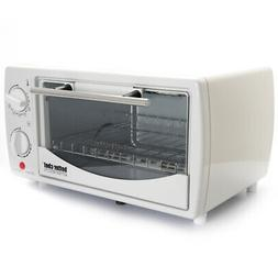 NEW Better Chef 9 Liter Toaster Oven Broiler-white IM-255W
