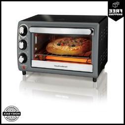 Hamilton Beach Toaster Oven In Charcoal Model# 31148 Non-Sli