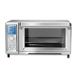 Cuisinart Toaster Oven Stainless Steel Digital Control Light