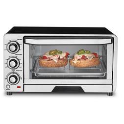 Cuisinart TOB-40 Custom Classic Toaster Oven Broiler -Stainl