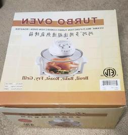 Oyama TRO-110C Turbo Convection Oven, 12 L, White