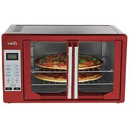 Oster TSSTTVFDDG-R French Door Toaster Oven, Extra Large, Re