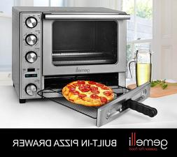 Gemelli Twin Oven, Convection Oven w/ Built-In Pizza Drawer