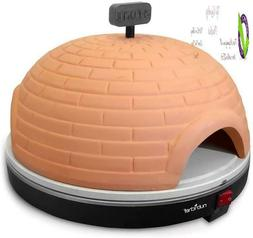 Nutrichef Upgraded Electric Pizza Oven - Artisan Version 110