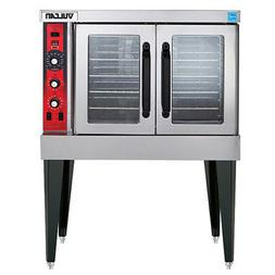 Vulcan VC4GD Natural Gas Convection Oven, Single Stack, Stan