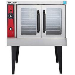 Vulcan VC4GD Single Deck Nat. Gas Convection Oven, Solid Sta