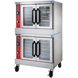 Vulcan VC55E Electric Convection Oven, Double Stack, 240V wi