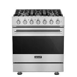"Viking RVGR3305BSS 30"" Freestanding Gas Range 3 SERIES"
