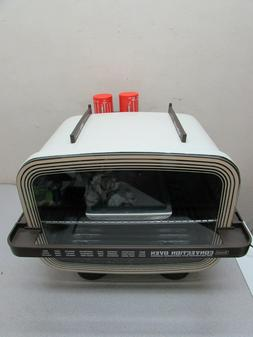 Vintage Kitchen Convection Dehydrator Oven MCM Space Age Jet
