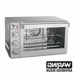 Waring WCO500X Commercial 1/2 Size Convection Oven 120 Volt