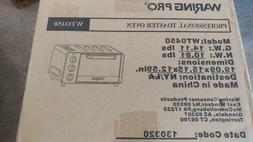 Waring Pro WTO450 Toaster Oven - brushed stainless steel - N