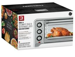 Chefman X Large, Countertop Convection; Stainless Steel Oven