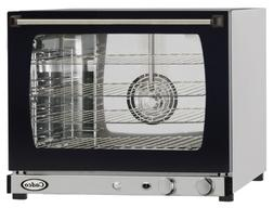Cadco XAF-133 Half Size Convection Oven with Manual Controls