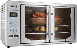 Oster  XL Digital French Door Countertop Oven Stainless Stee